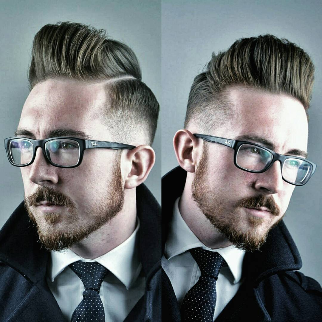 Best mens haircuts hairstyles for a receding hairline tall pompadour haircut solutioingenieria Choice Image