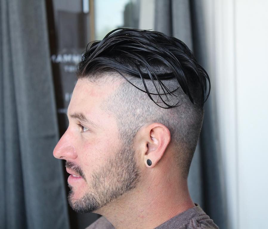 Undercut hairstyles for men with long hair