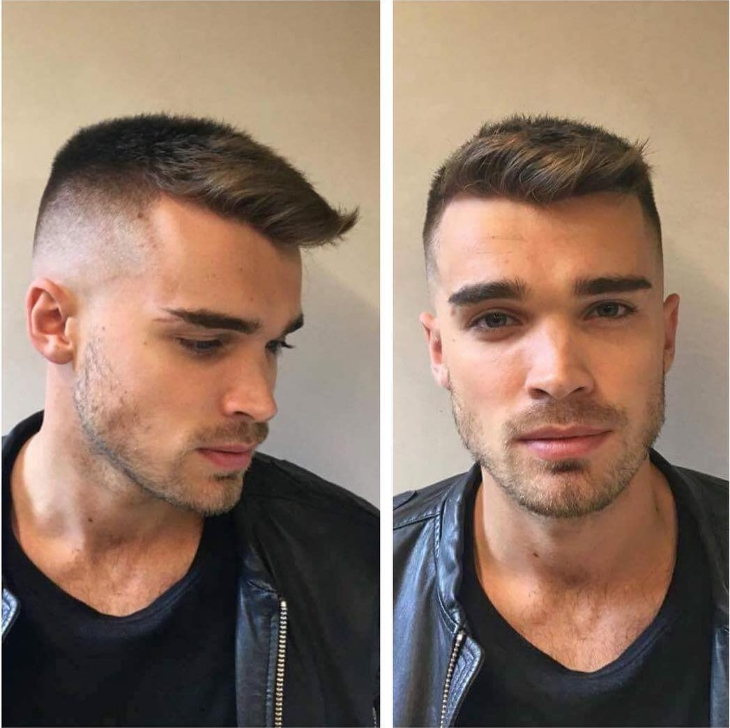 Short Men S Haircut