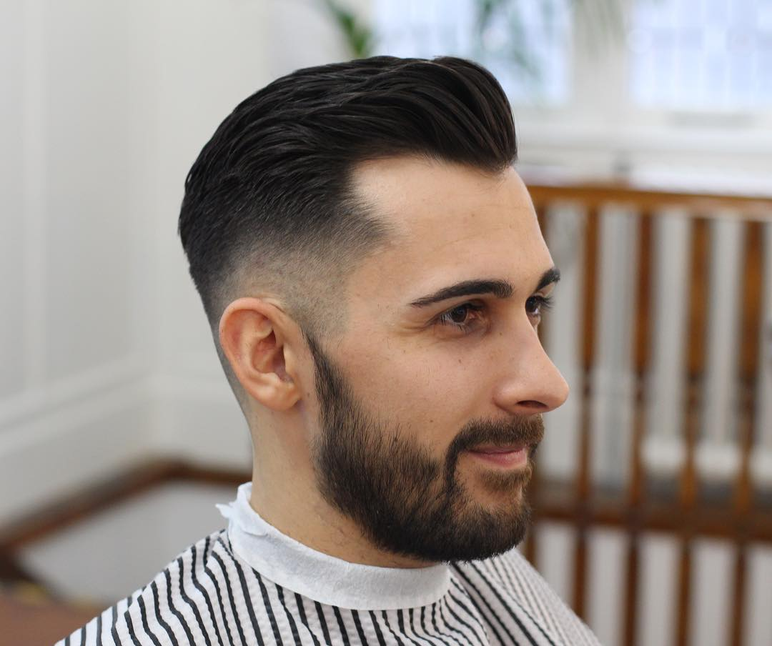 Haircut For Receding Hairline
