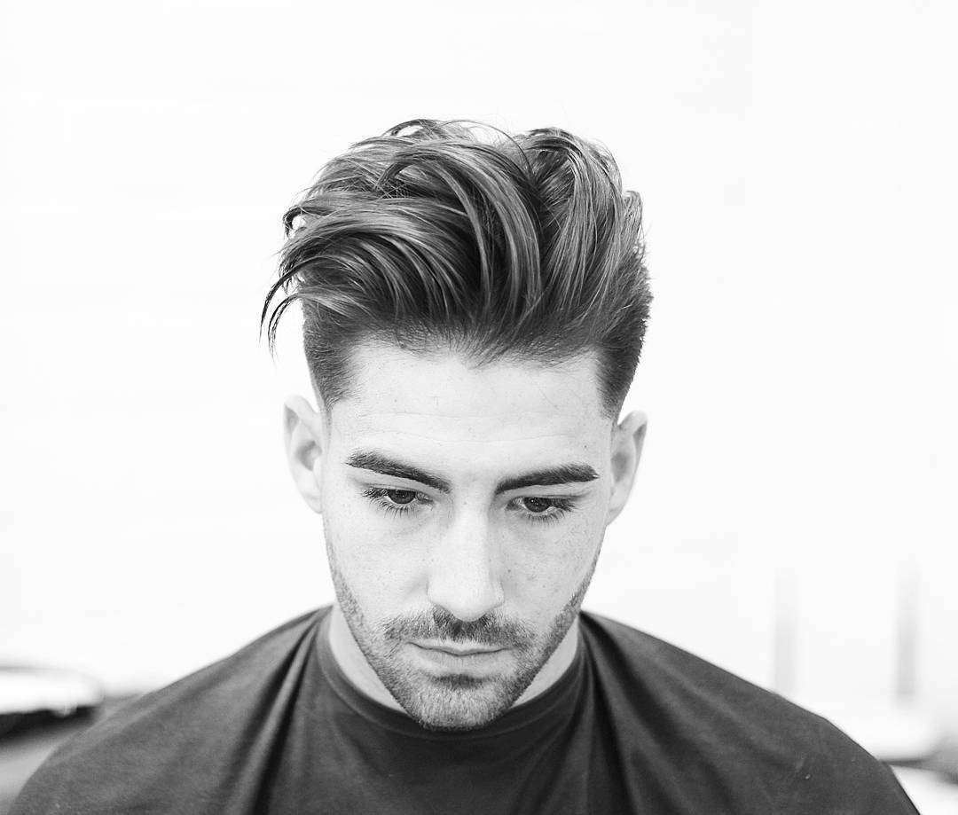 100 new mens hairstyles for 2017 longer mens hairstyle brushed back urmus Images
