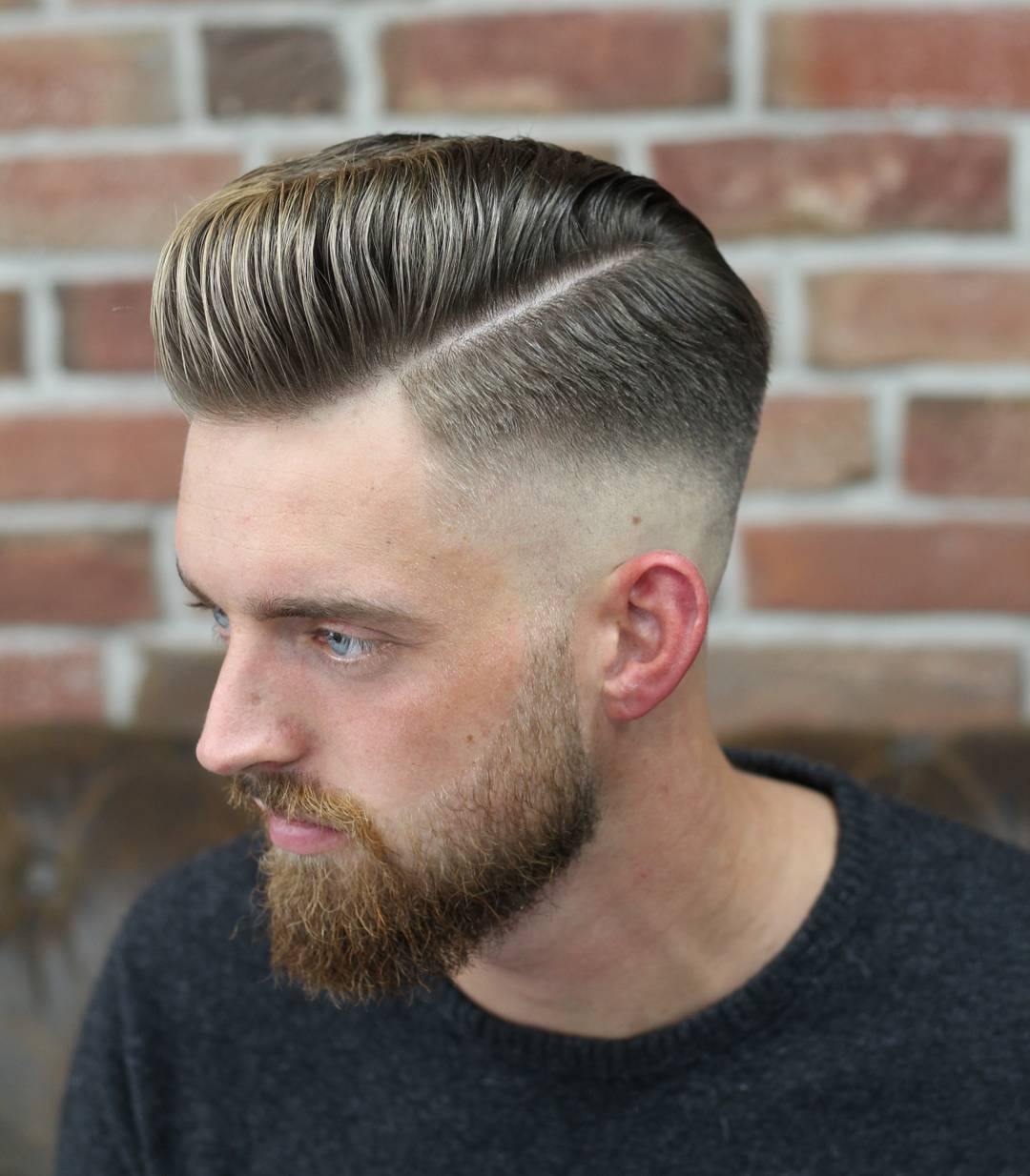 Hipster men hairstyles 25 hairstyles for hipster men look - Barber_djirlauw Cool Pompadour Hairstyle Mens Haircut