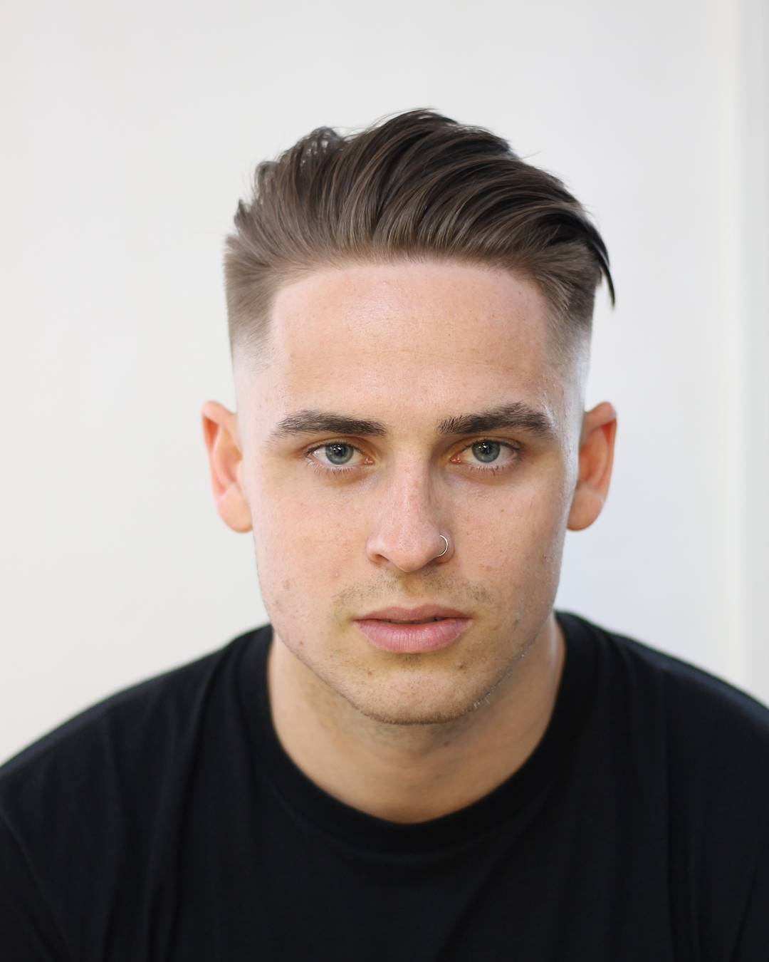 Slick Hairstyle For Men With Straight Hair