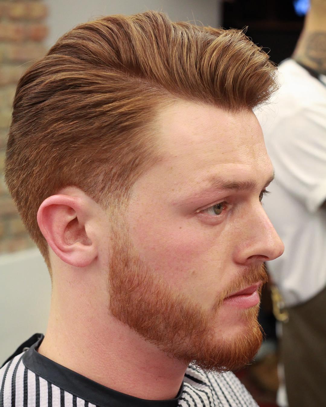 medium mens haircut