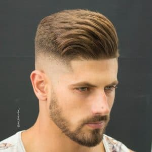 Men Short Hairstyles mozambeak_and slicked back taper fade 49 Cool Short Hairstyles And Haircuts For Men