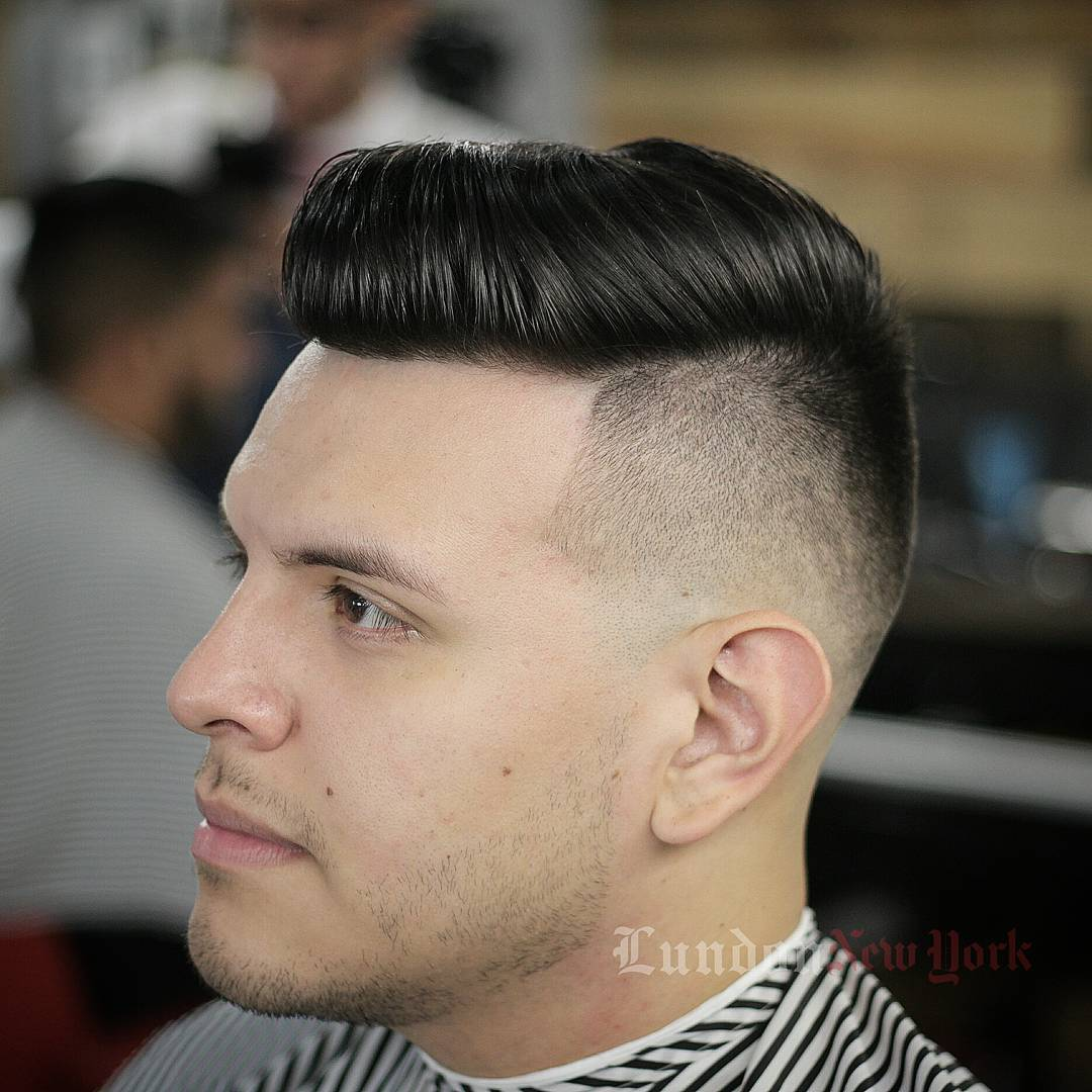 lundonnewyork-slicked-back-haircut-pompadour-hairstyle