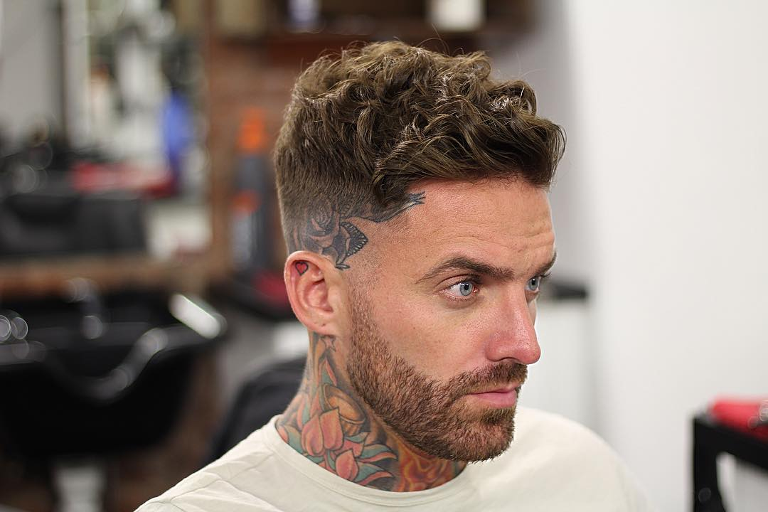 Tombaxter Hair Short Curly Hairstyle For Men