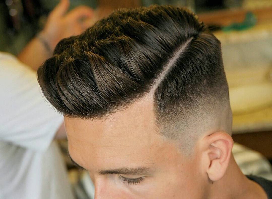 Textured Hairstyles For Men - image ambarberia-textured-pompadour-haircut-men-2017-new on https://alldesingideas.com