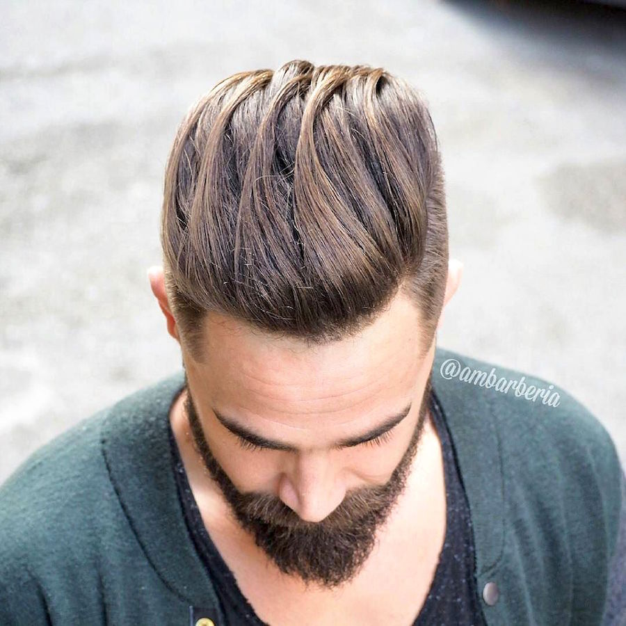 how to clean up beard while keeping the length