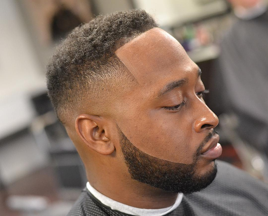 90 High And Tight With Beard