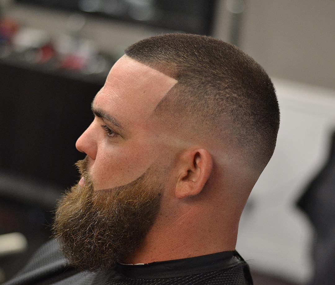 Buzz Fade With Beard