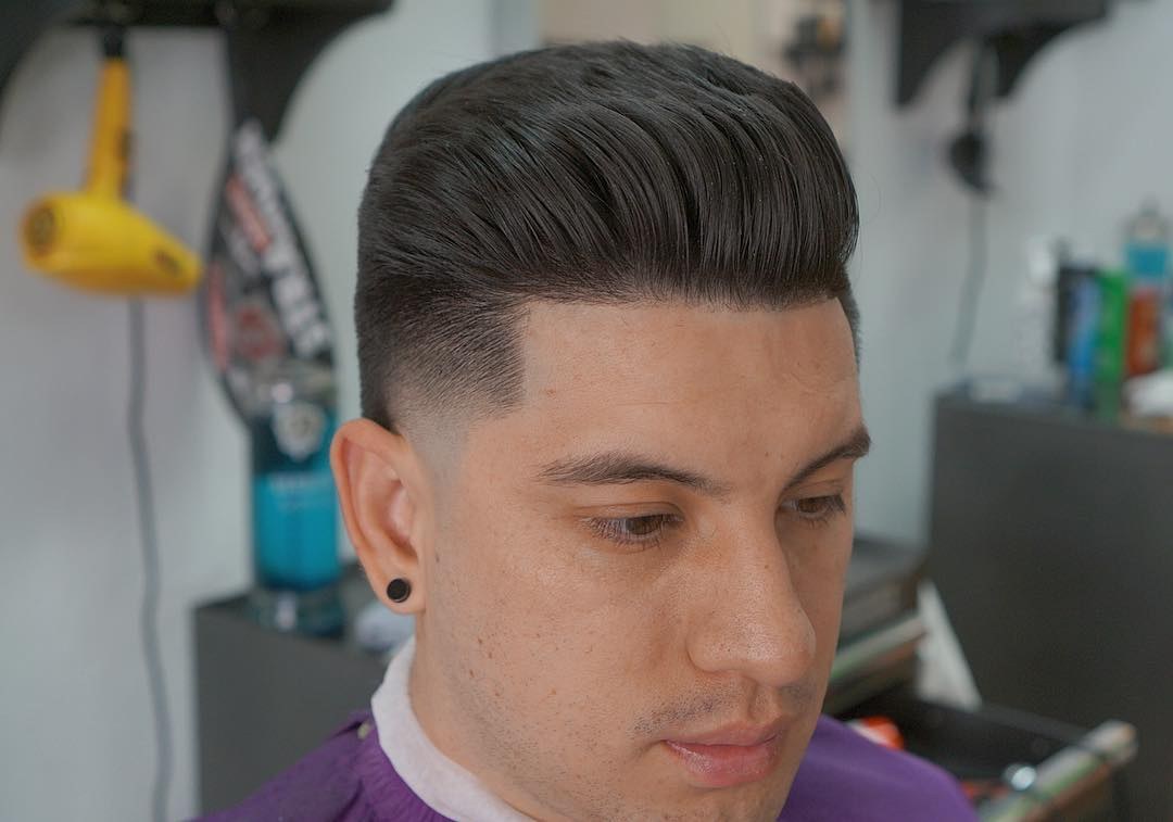 Textured Hairstyles For Men - image dtownbarb3r-modern-mens-classic-haircut-2017-new on https://alldesingideas.com