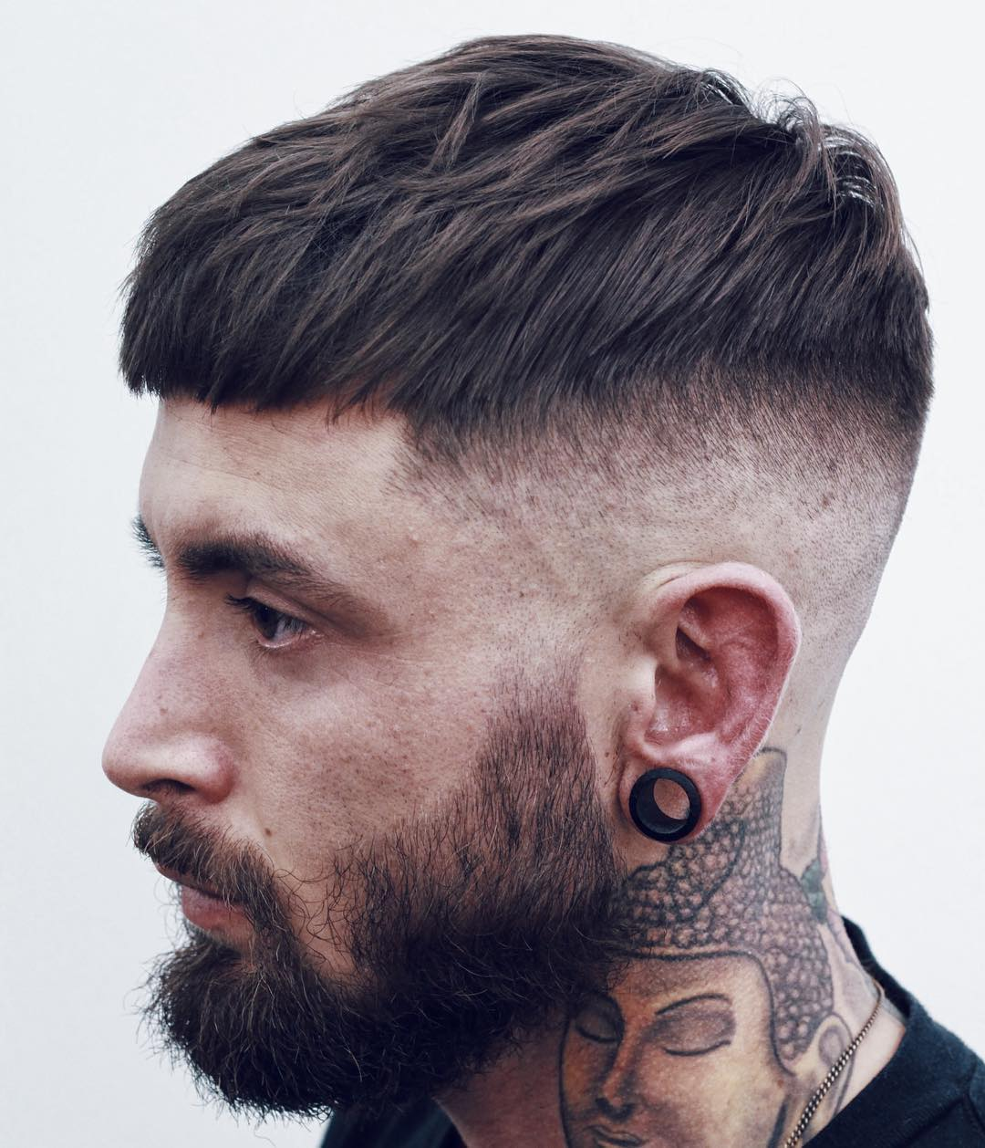 Hipster men hairstyles 25 hairstyles for hipster men look - 25 Thick Crop Texture