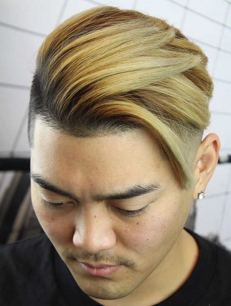 New Long Hairstyles For Men - Swept hairstyle men