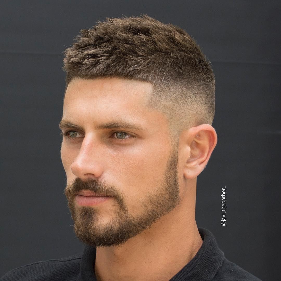 Hairstyles For Men With Thick Hair - image javi_thebarber_-short-mens-haircut-thick-hair-2017-new on https://alldesingideas.com
