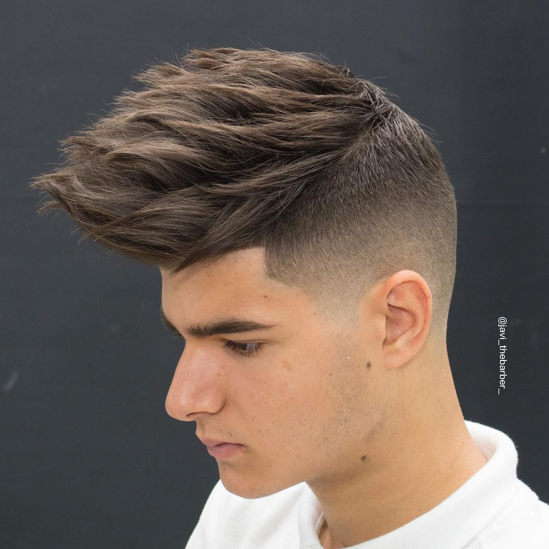 6a9dd464d3b9f Cool Spiky Men s Haircut For Thick Hair