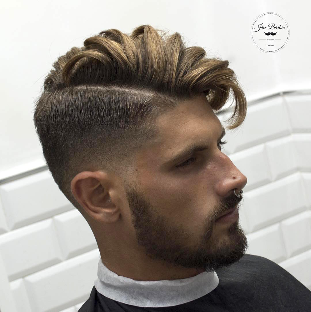 Side Part Combover Undercut