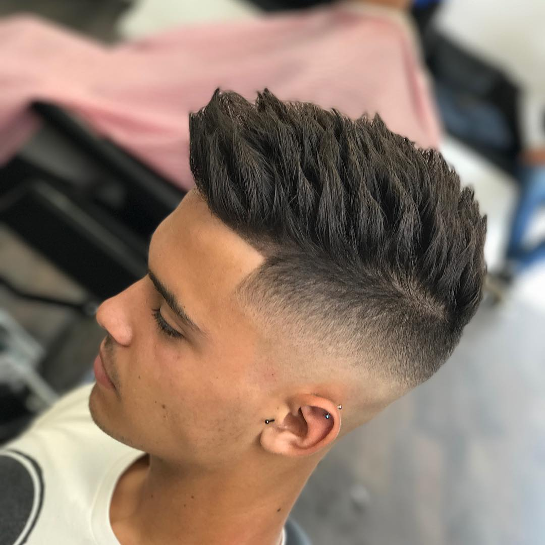 Short Spiky Cut And Style