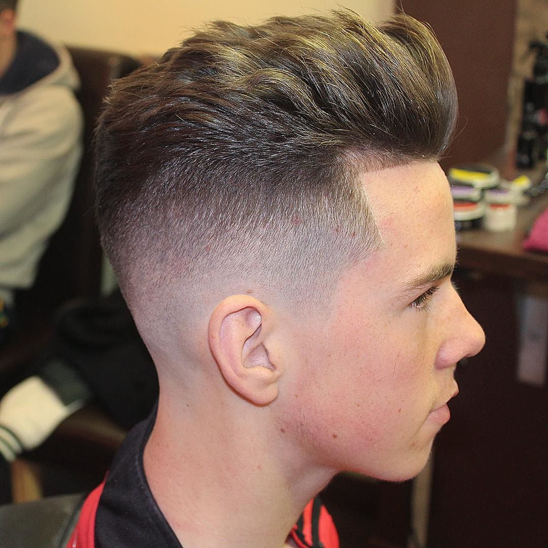 Textured Hairstyles For Men - image m13ky_and-clean-fade-and-textured-hair-2017-new on https://alldesingideas.com