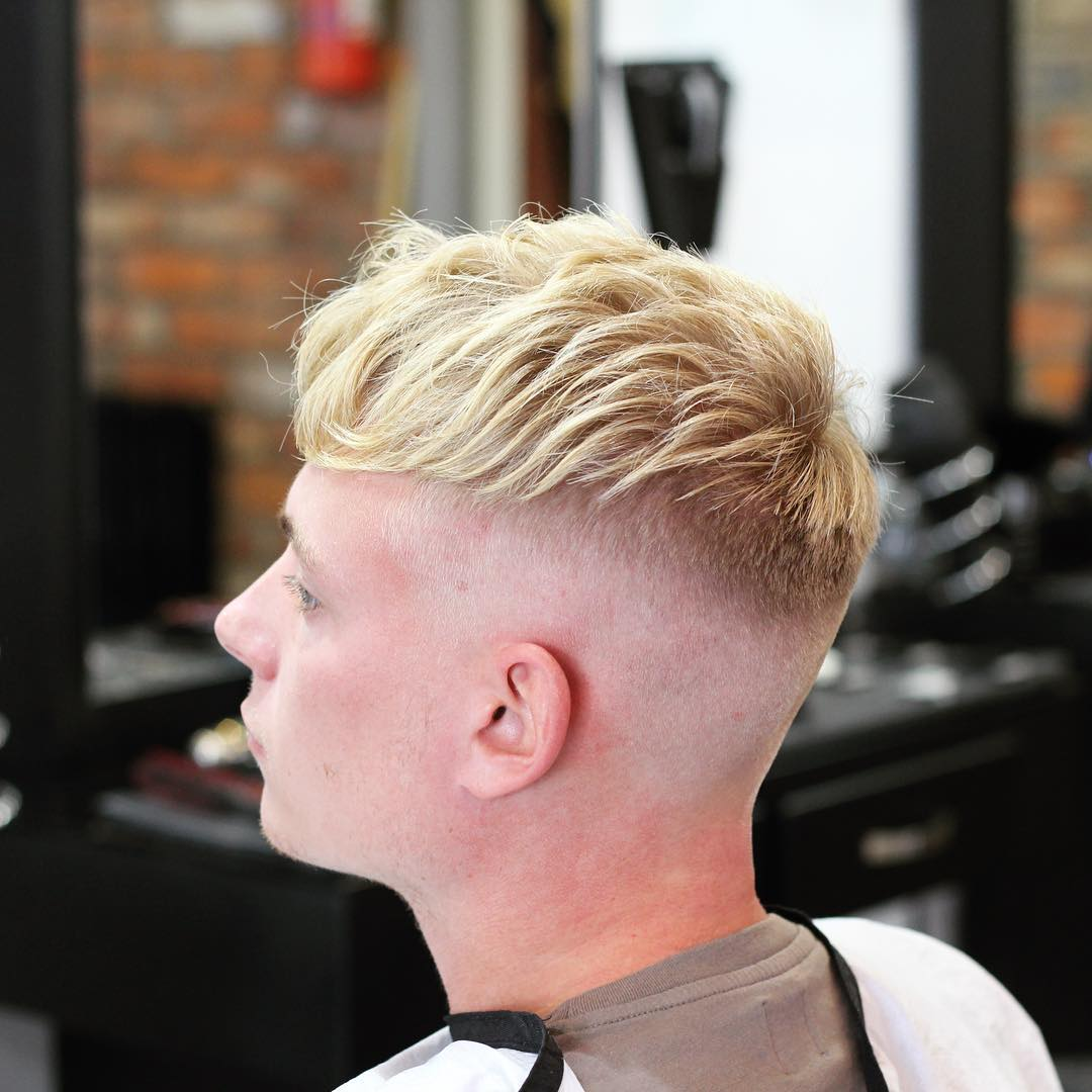 Undercut hairstyles for men men s hairstyles and haircuts for 2017 - Medium Textured Haircut High Skin Fade Melissatoft86 Mens Undercut Hairstyle