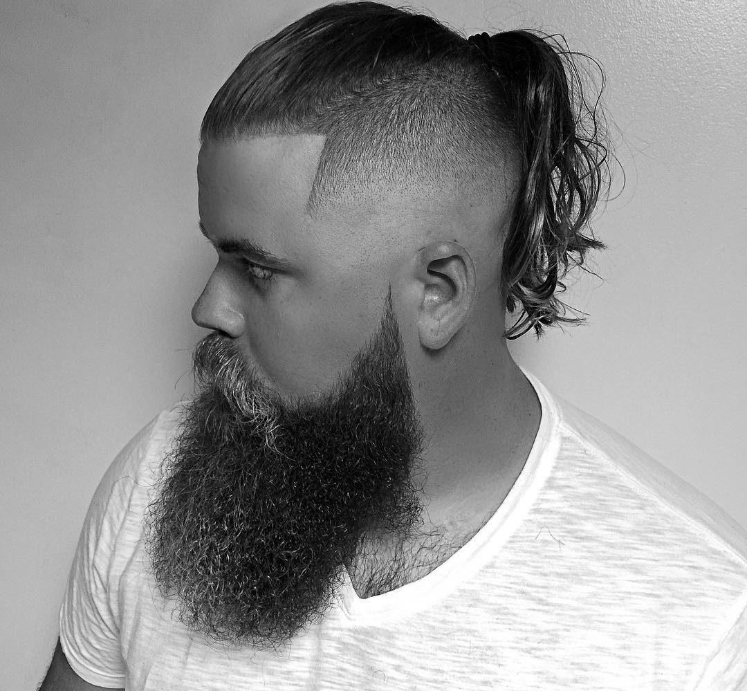 Hairstyles For Men With Long Hair - Hairstyle undercut terbaru