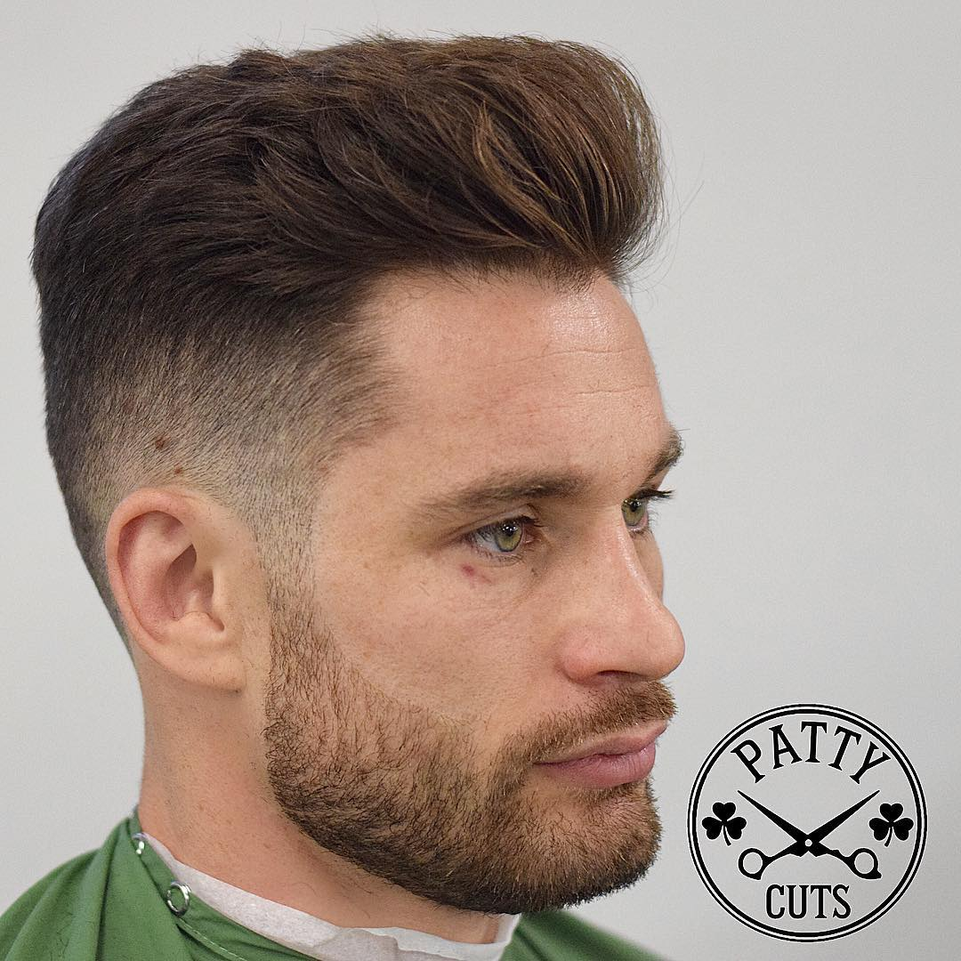 patty_cuts classic mens haircut short hair @chris_algieri boxer 2017 new