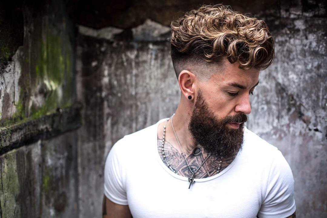 Hair Styles For Curly Hair Men: Curly Hairstyles For Men 2017