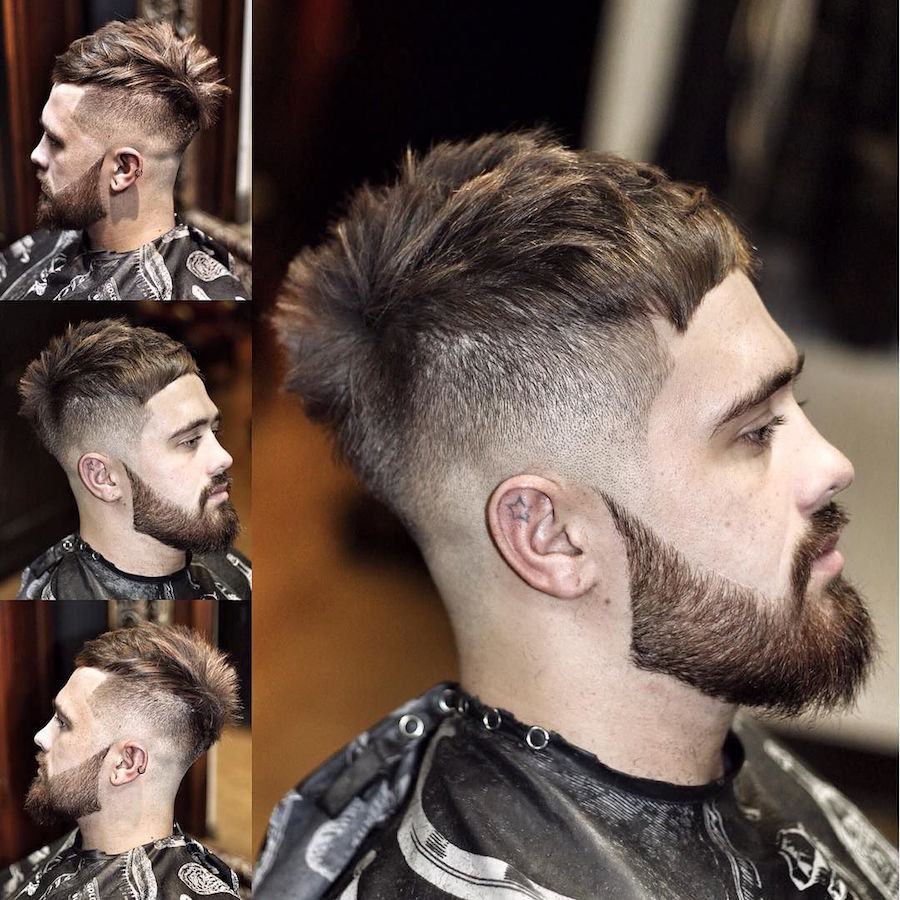 Textured Hairstyles For Men - image ryancullenhair_and-crop-haircut-with-spiky-textures-2017-new on https://alldesingideas.com