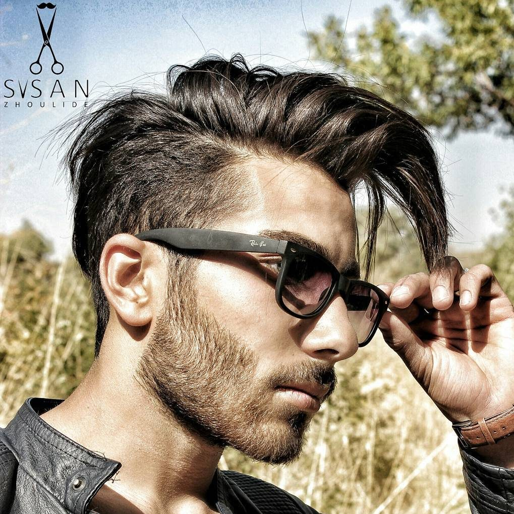 Mens Hairstyles With Glasses New Long Hairstyles For Men 2017