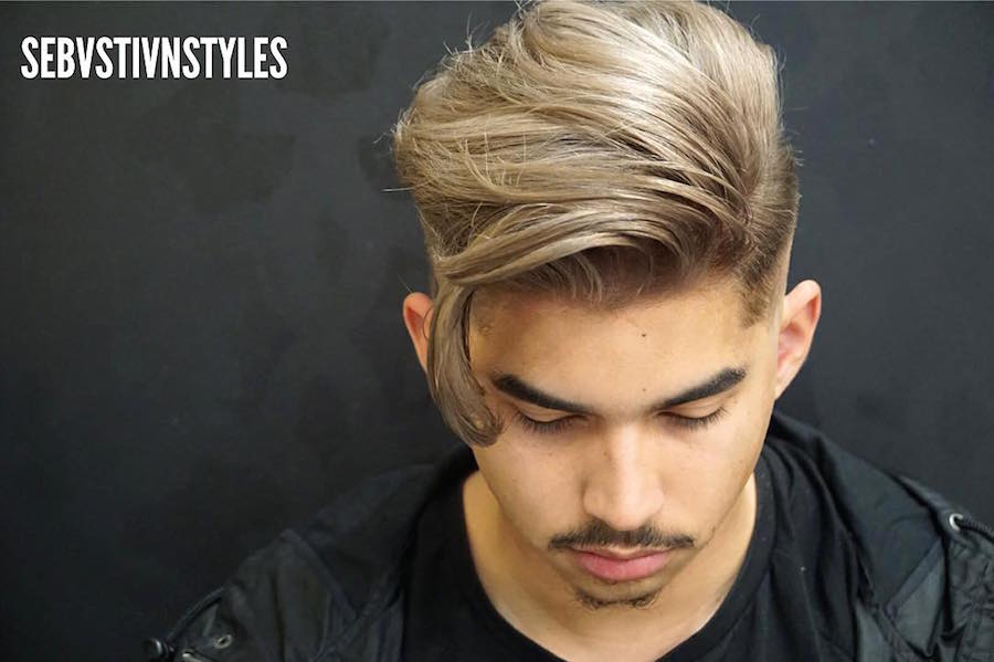 New long hairstyles for men 2017 7 side part hair loose fringe urmus Choice Image