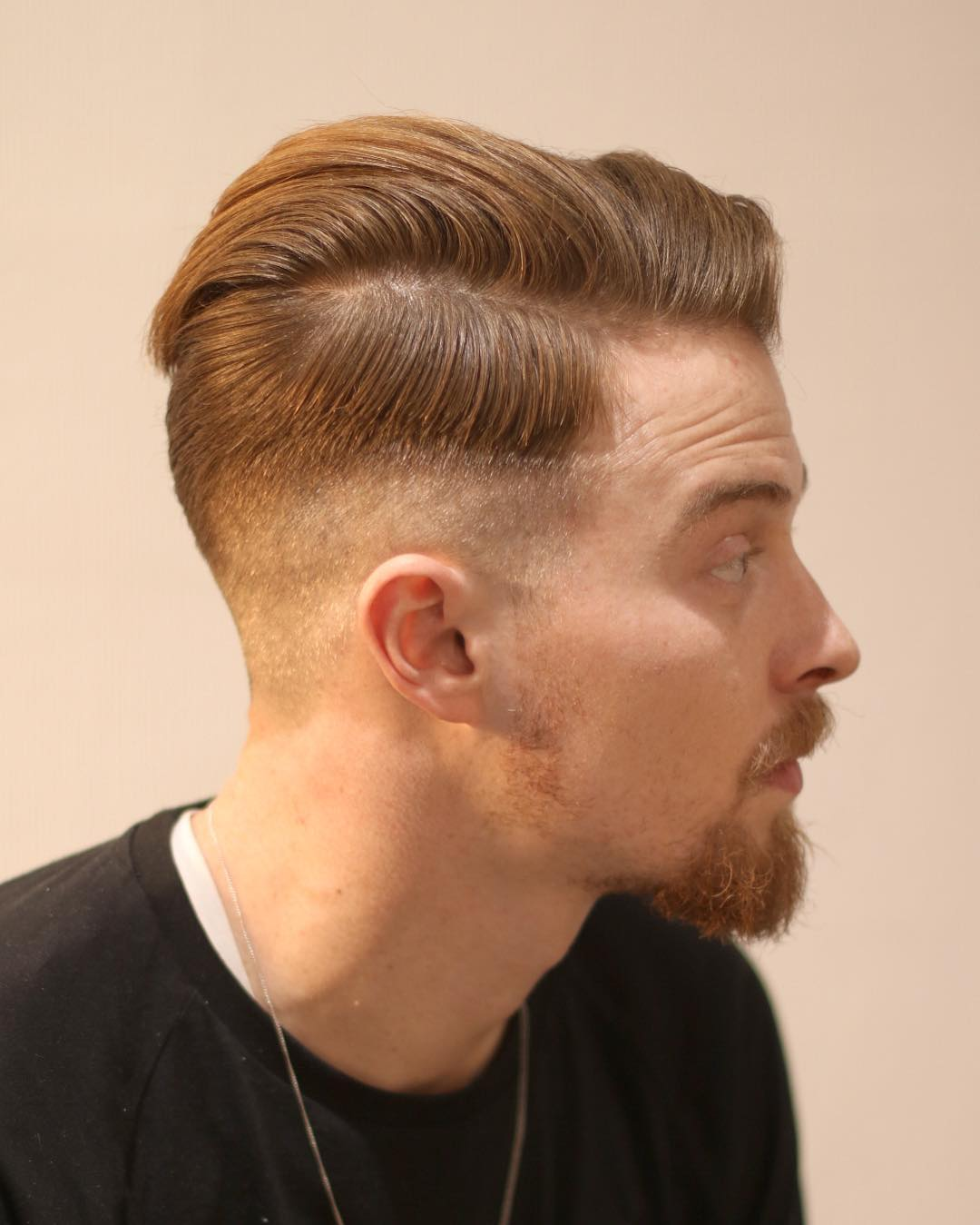 Cool Side Part Hairstyle For Men Step