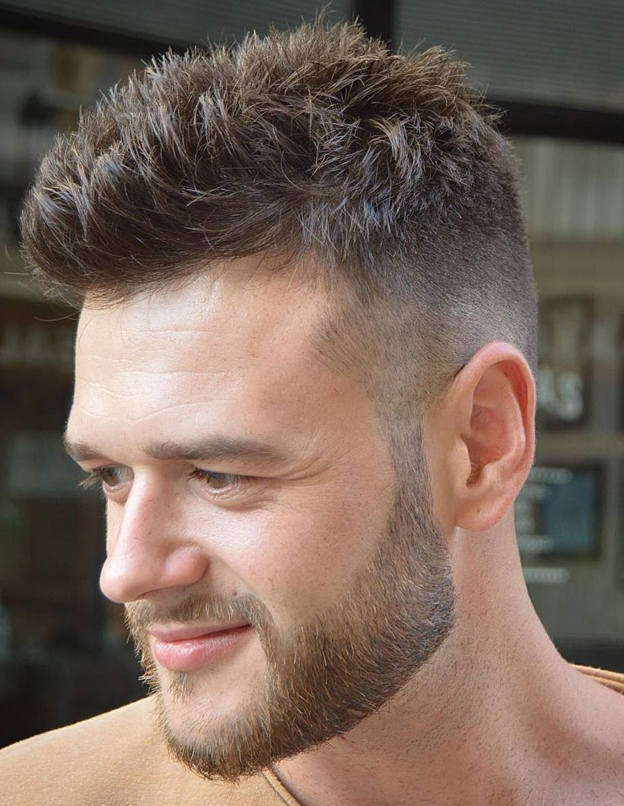 High Quality Easy Short Hairstyle For Men