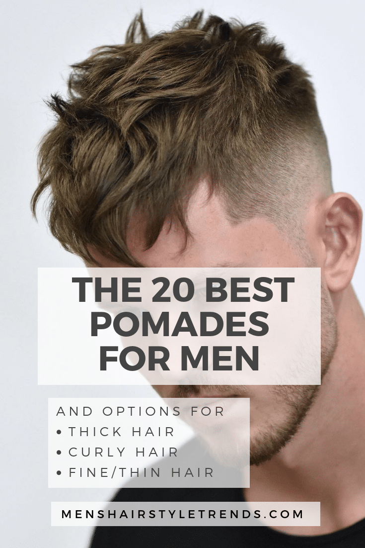 The Best Pomades + Hair Products For Men (10 Update)