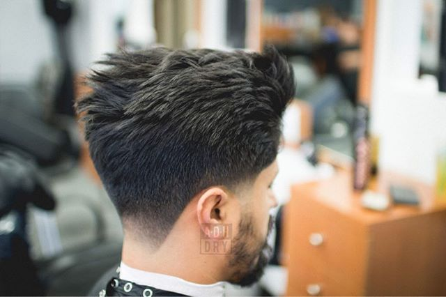 Taper Hairstyles high taper fade haircut Taper For Thick Hair