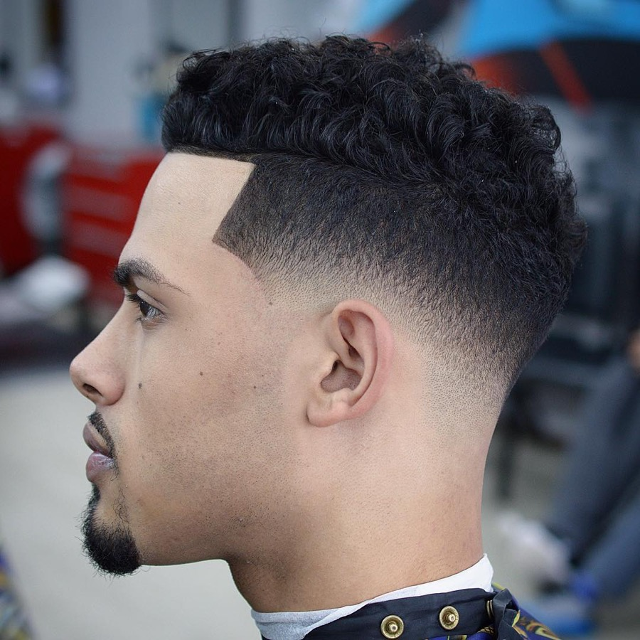 Low skin fade haircut