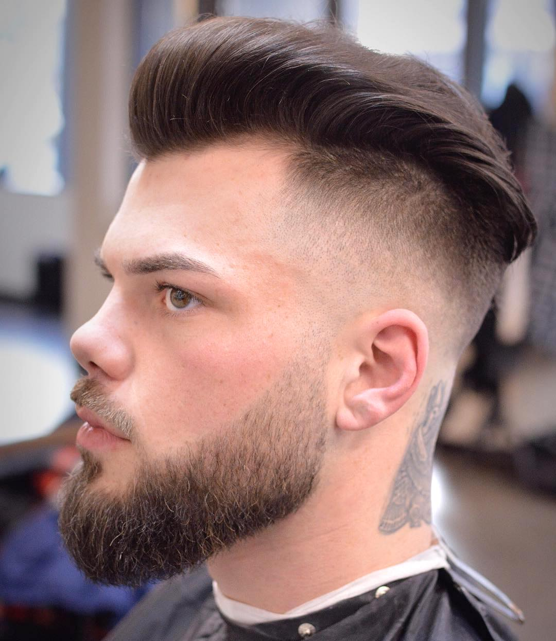 blackfishbry modern undercut hairstyle for men 2017
