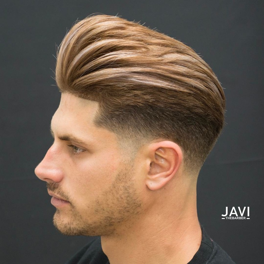 hair mens styles pompadour fade haircuts 7628