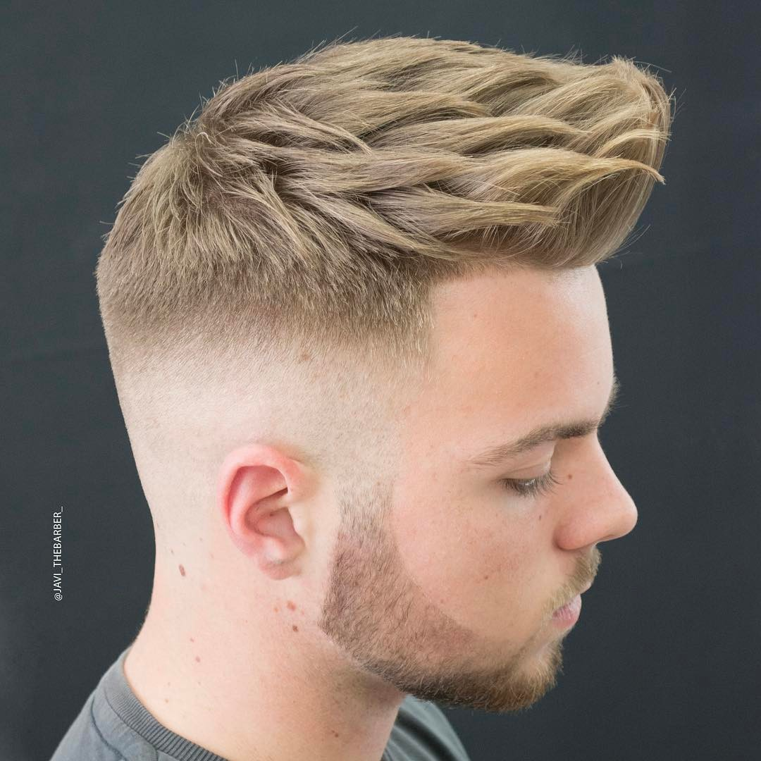 javi_thebarber_ thick hairstyle for men textured haircut