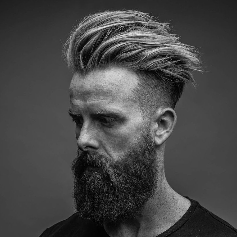 11+ Pompadour Fade Haircuts That Look Amazing