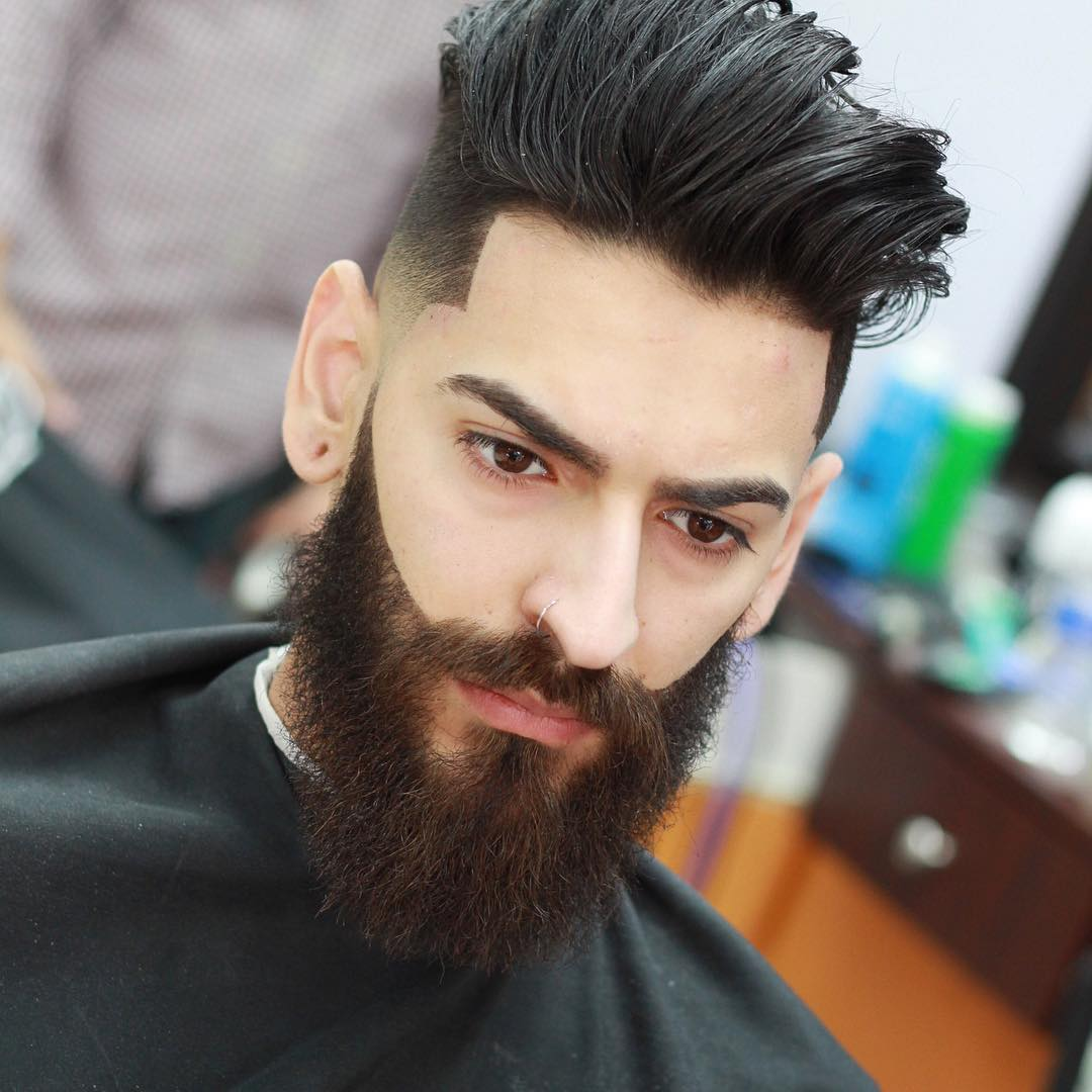 pjabreu short sides long on top mens hairstyle