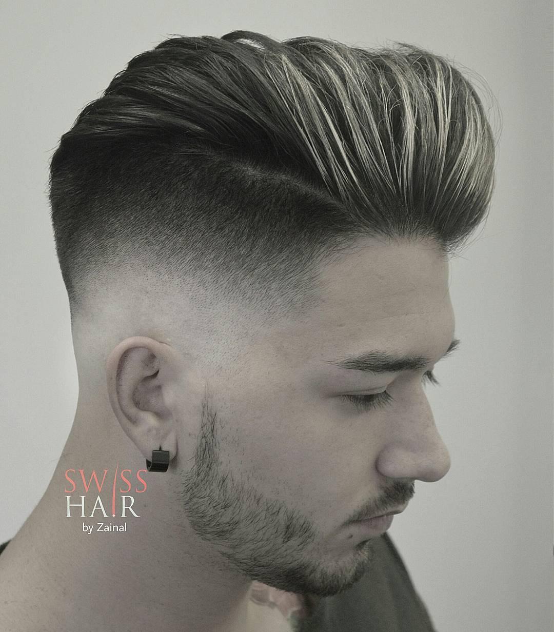 swisshairbyzainal skin fade mens haircut