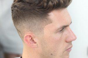 short haircut for wavy hair men 2017 quiff
