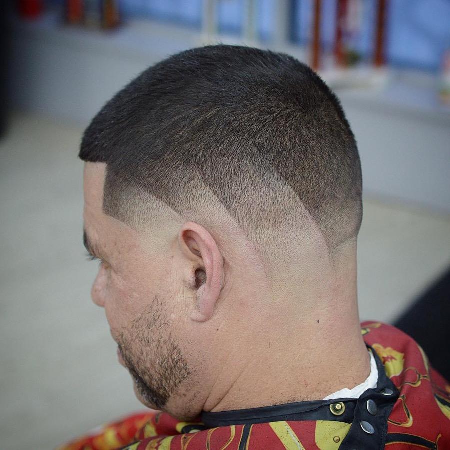 Short Fade Haircut + Hair Design