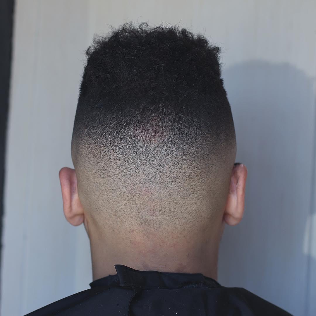 Fade Haircuts For Black Men