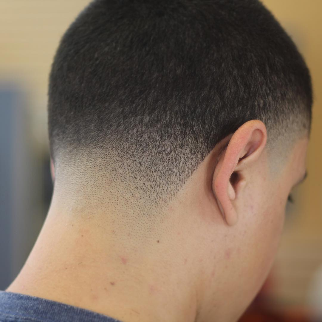 short haircut taper fade
