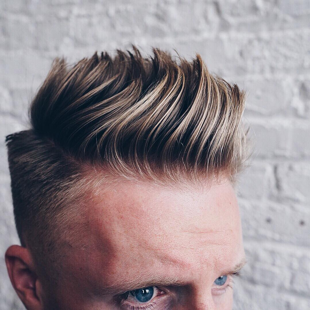 Mens Side Part Haircuts