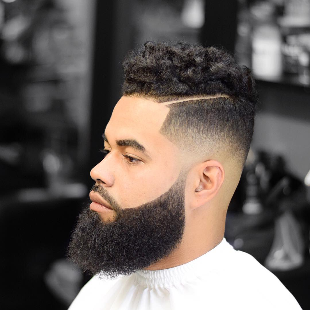 Hairstyles For Curly Hair Men criztofferson_and mens hairstyle for curly hair Side Part Hairstyle