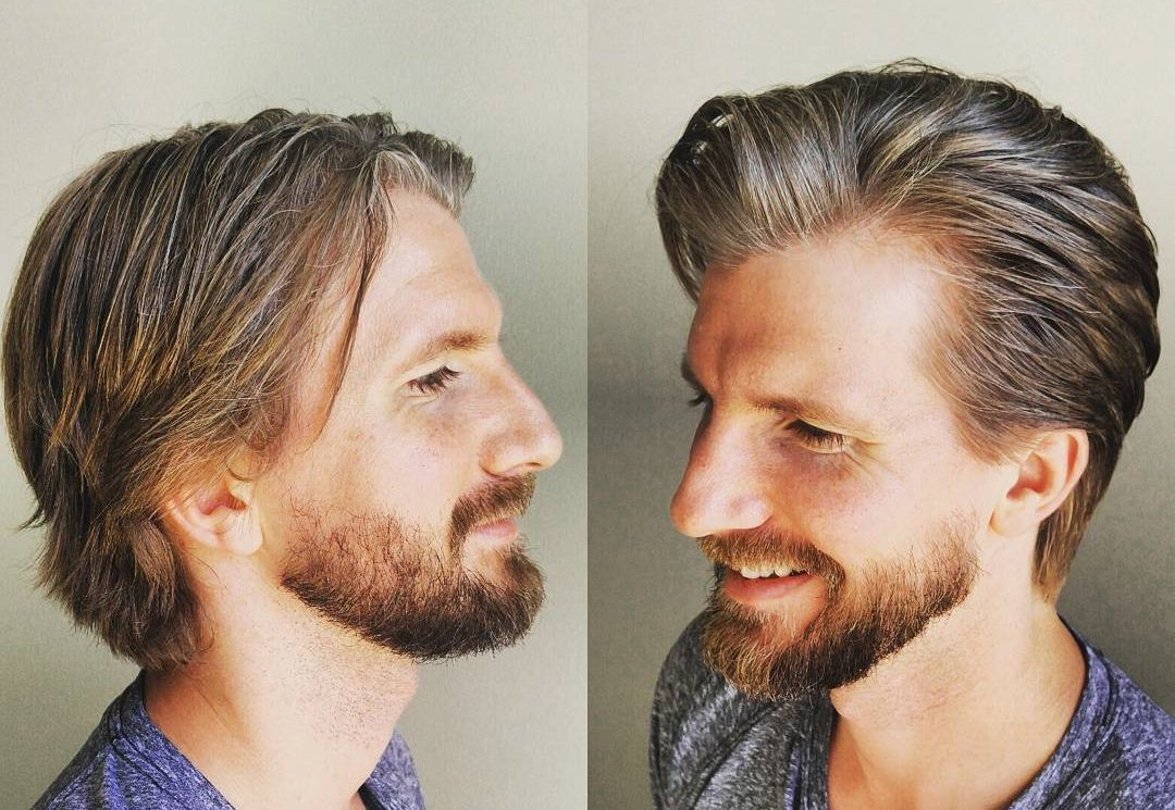 styling medium hair guys best medium length s hairstyles 2017 2656