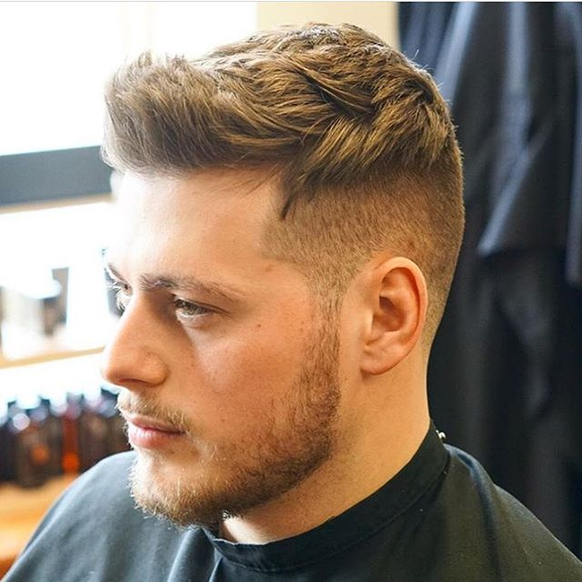thick hair fade haircut