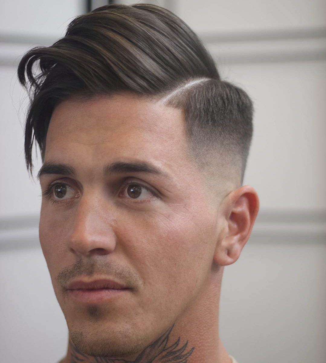 Hairstyles 2017 Medium Hair Mens : ... side-part-hairstyle-medium-haircuts-for-men-fade-1-e1487290678383.jpg